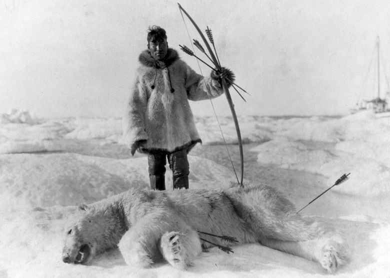 Inuit hunter about 1924 - Ketones are the cleanest and healthiest fuel